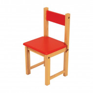 Jolly Kidz Brightway Chair - Red
