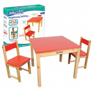 Jolly Kidz Brightway Setting - Red