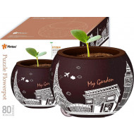 Pintoo Puzzle Flower Pot Modern Architecture