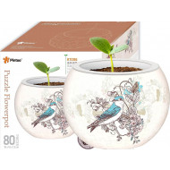 Pintoo Puzzle Flower Pot Birds & Flowers