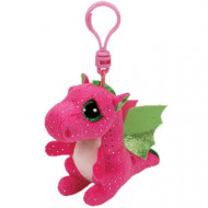 Beanie Boos Clip Ons Darla the Pink Dragon