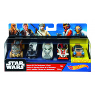Hot Wheels Star Wars 5 Pack Vehicles