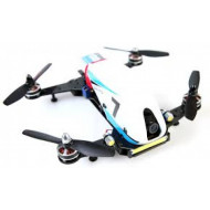 DualSky Hornet Mini ARF version 250 FPV Racer w/FC451, Motors, ESCs Lights