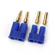 E-Flite Set of EC2 Connectors inc. 1 Device connector and 1 Battery Connector