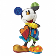 Britto Mickey Holding Heart Large Figurine