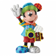 Britto Mickey Tourist With Camera Large Figurine