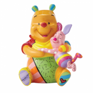 Britto Pooh And Piglet Medium Figurine
