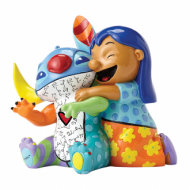 Britto Lilo And Stitch Medium Figurine