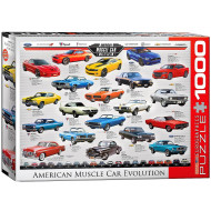 Eurographics-Muscle-Car-Evolution-1000pc-Jigsaw-Puzzle