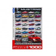 Eurographics-Ford-Mustang-Evolution-1000pc-Jigsaw-Puzzle