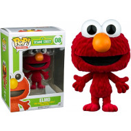 Funko Sesame Street - Elmo Flocked Pop Vinyl