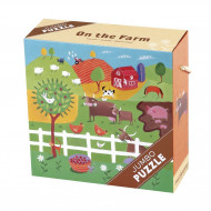 On The Farm - Jumbo Puzzles