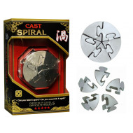 Hanayama Level 5 Cast Puzzle Spiral