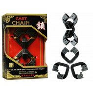 Hanayama Level 6 Cast Puzzle Chain
