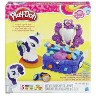 Play-Doh Rarity Style & Spin