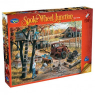 Holdson Spoke Wheel Junction Base Camp 1000pc Jigsaw Puzzle