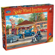 Holdson Spoke Wheel Junction Full Service 1000pc Jigsaw Puzzle