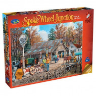 Holdson Spoke Wheel Junction Signs 1000pc Jigsaw Puzzle