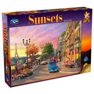 Holdson Sunsets The Seine 1000pc Jigsaw Puzzle