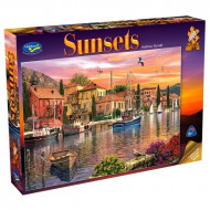 Holdson Sunsets Harbour 1000pc Jigsaw Puzzle