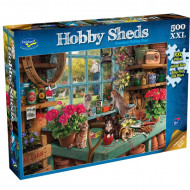 Holdson Grandpas Potting Hobby Shed 500pc XXL Jigsaw Puzzle