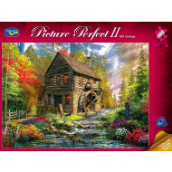 Holdson Picture Perfect 2 Mill Cottage 1000pc Jigsaw Puzzle