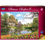 Holdson Picture Perfect 2 Tulip Cottage1000pc Jigsaw Puzzle