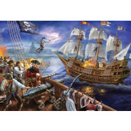 Holdson Gallery Blackbeards Galleon 300pc Jigsaw Puzzle