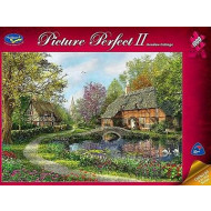 Holdson Picture Perfect 2 Meadow Cottage 1000pc Jigsaw Puzzle