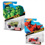 Hot Wheels Marvel Character Car Assorted