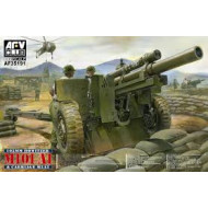 AFV Club 1/35 105mm Howitzer M101A1 On Carrige M2A2