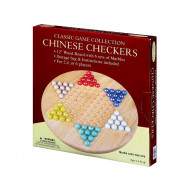 Chinese Checkers Wood with Marbles