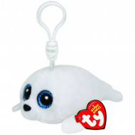 Beanie Boos Icy the White Seal Clip