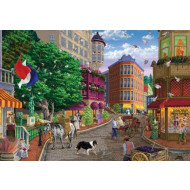 Holdson Main Streets Chocolatier 500pc Jigsaw Puzzle