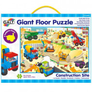 Galt - Construction Vehicles Shape Puzzle Set