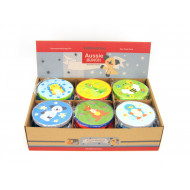 Aussie Bunch Animal Tambourine Assorted