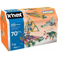 Knex - Classic Constructions 70 Model Building Set