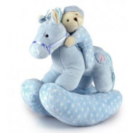 Twinkles Rocking Horse Blue 23cm