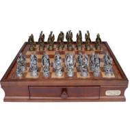 Dal-Rossi-Italy-Mystical-Dragon-Chess-Pewter