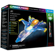 Laser Pegs 6 In 1 Jet Aircraft
