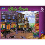 Main Streets II Dress Shop On The Hill 1000pc Puzzle