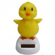 Solar Powered Chick Groover 10cm