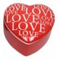 Heart Shaped Inspirational Love Box Asstd