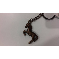 Metal Horse Key Ring