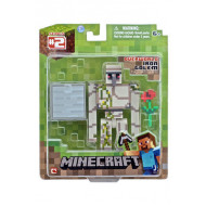 Minecraft Population Iron Golem w/accessory