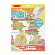 Melissa & Doug - Mess-Free Sand - Jumbo Foam Stickers - Beach