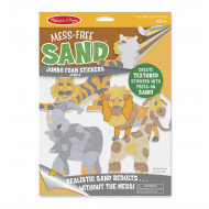Melissa & Doug - Mess-Free Sand - Jumbo Foam Stickers - Jungle