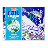M&D - Foil Coloring Pad - Animals