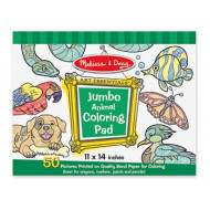 M&D - Jumbo Colouring Pad - Animals