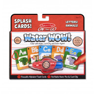M&D - On The Go - Water WOW! Splash Cards - Letters! Animals!